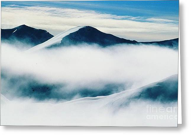 Above The Clouds Greeting Card by Ronnie Glover