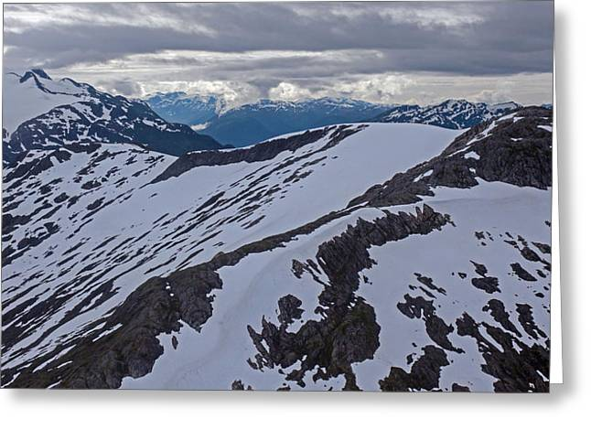 Above The Ridge Greeting Card by Mike Reid
