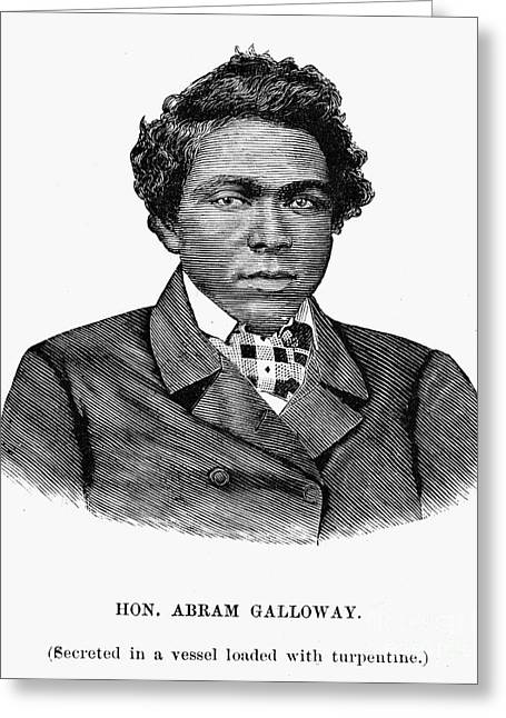 Abram Galloway Greeting Card by Granger