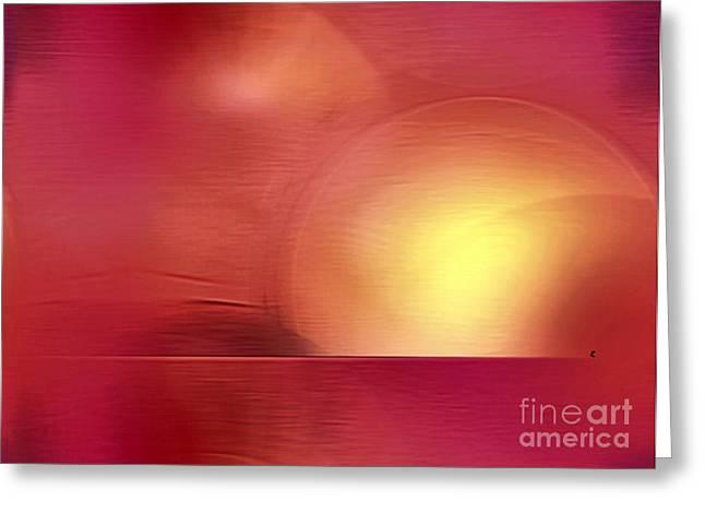 Abstract 11 Greeting Card by John Krakora