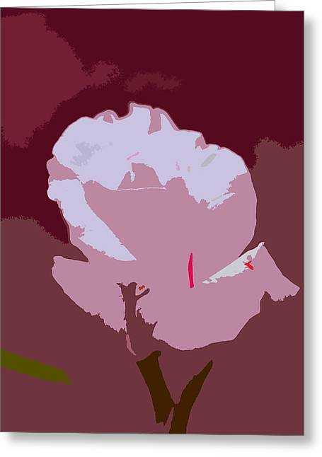 Abstract 189 Greeting Card by Pamela Cooper