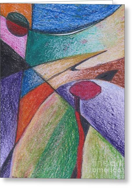 Abstract 510 Greeting Card by Nedunseralathan R