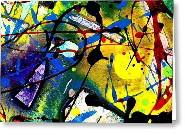 Abstract 55 Greeting Card by John  Nolan
