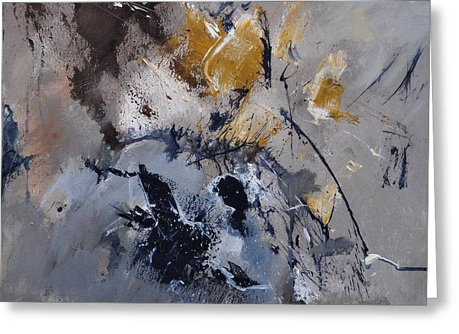 Abstract 5521502 Greeting Card by Pol Ledent
