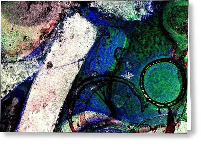 Abstract 56 Greeting Card by John  Nolan