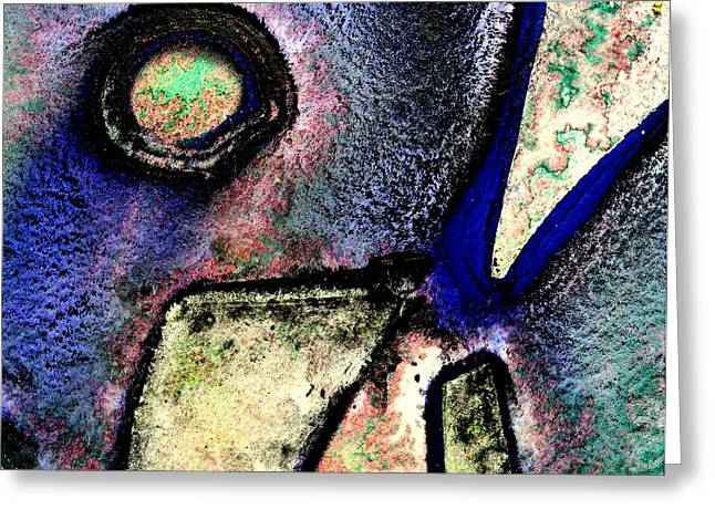 Abstract 58 Greeting Card