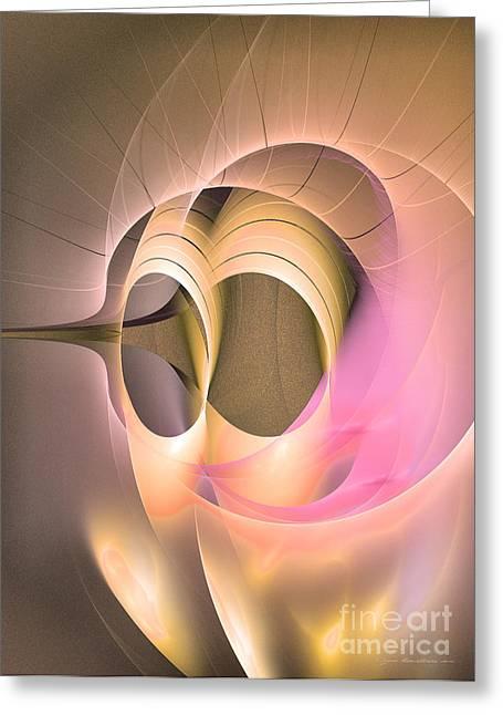 Abstract Art - Dies Laetitiae Greeting Card