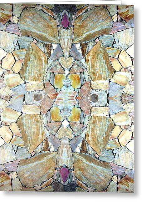 Abstract Fusion 67 Greeting Card by Will Borden