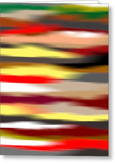Abstract IIi Greeting Card