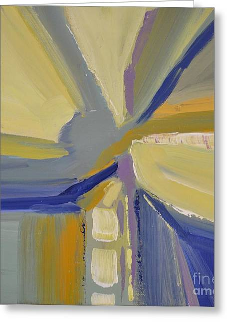 Abstract Intersection Greeting Card
