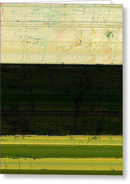 Abstract Landscape - The Highway Series Ll Greeting Card