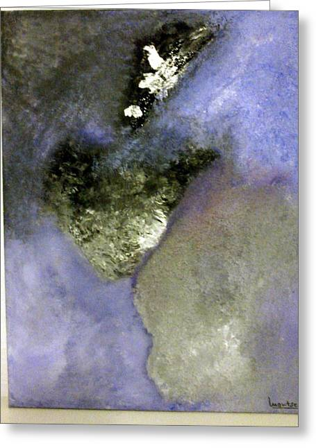 Abstract Greeting Card by Montserrat Lopez Ortiz