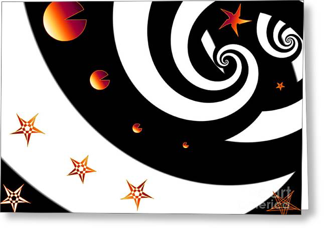 Abstract Zebra Greeting Card