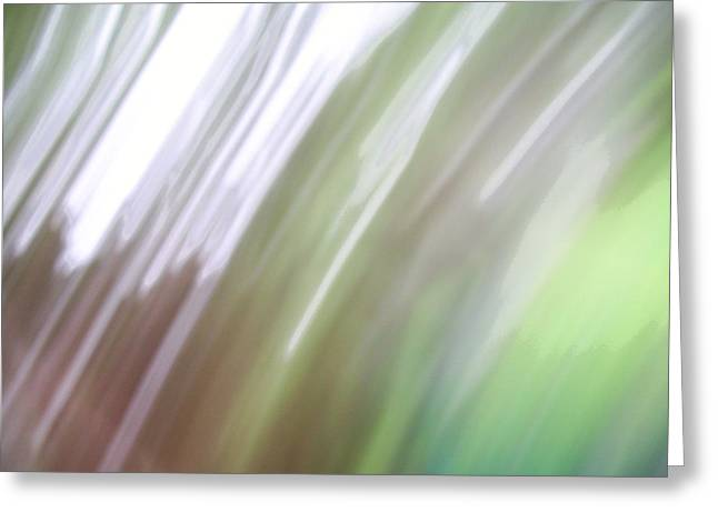 Greeting Card featuring the photograph Abstracted Air by Ginny Schmidt