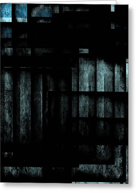 Abstraction 4 Greeting Card by Maciej Kamuda