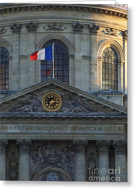 Academie Francaise Greeting Card by Brian Jannsen
