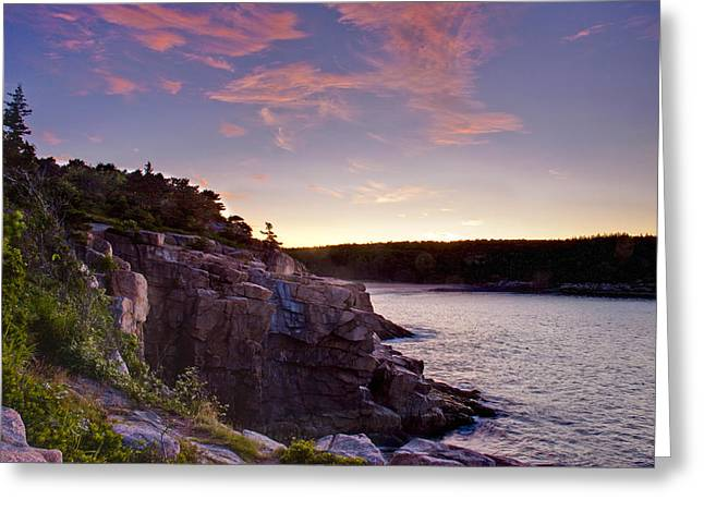 Acadian Sunrise Greeting Card by Jim Neumann