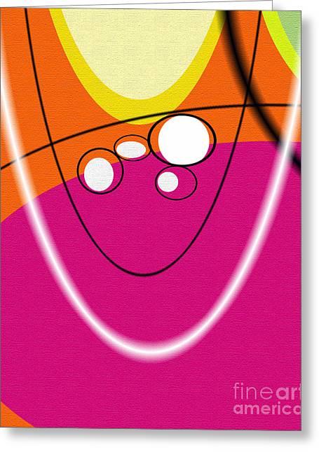 Acme Retro  Greeting Card by Ricki Mountain