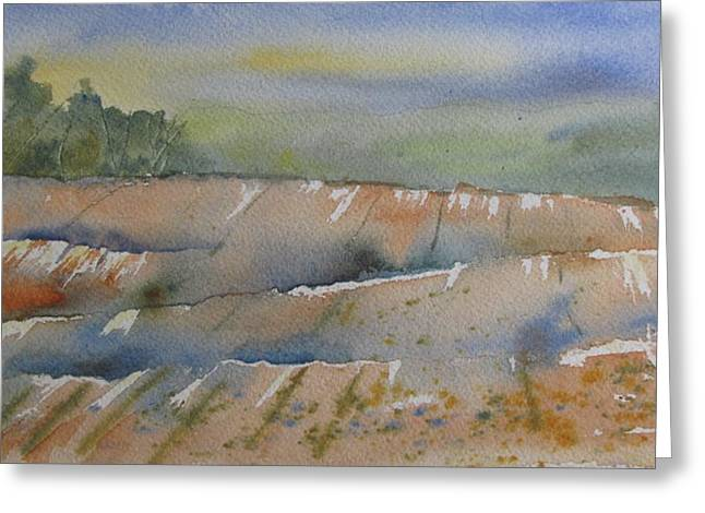 Acres Of Land Greeting Card by Ramona Kraemer-Dobson