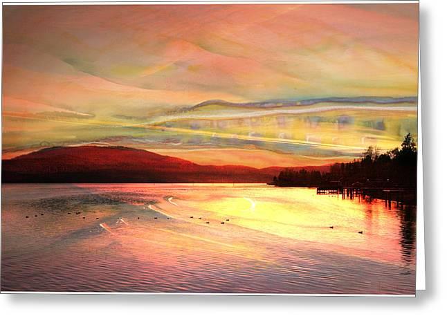 Acrylic Sky Greeting Card