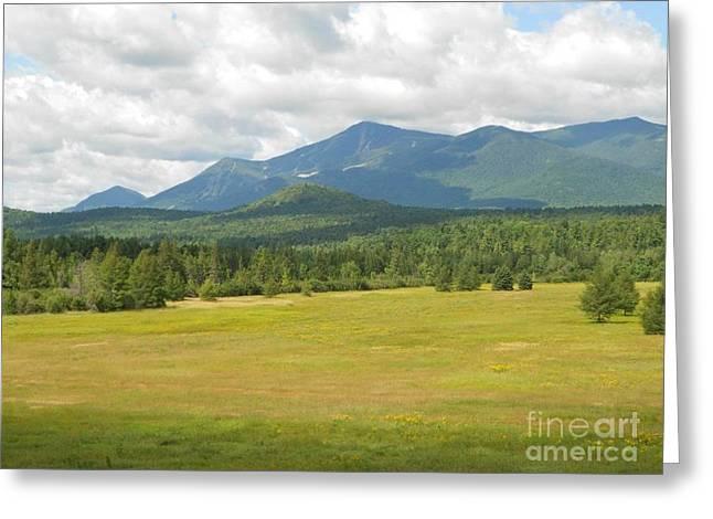 Adirondack Mountains Greeting Card