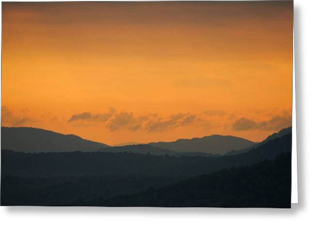 Greeting Card featuring the photograph Adirondacks by Steven Richman