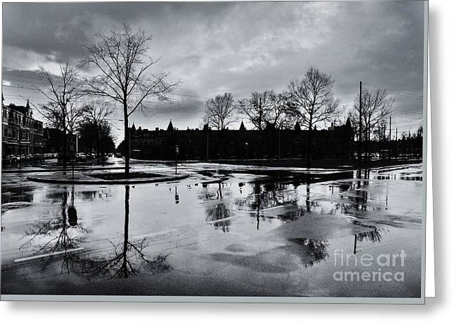 Den Haag After The Rain Greeting Card