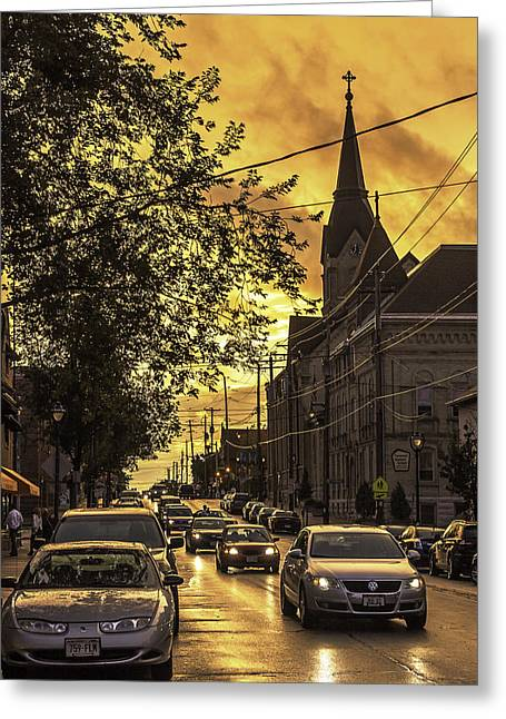 After The Rain Greeting Card by Michael Wessel