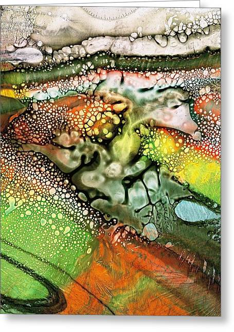 After The Rain Greeting Card by S Josephine  Weaver