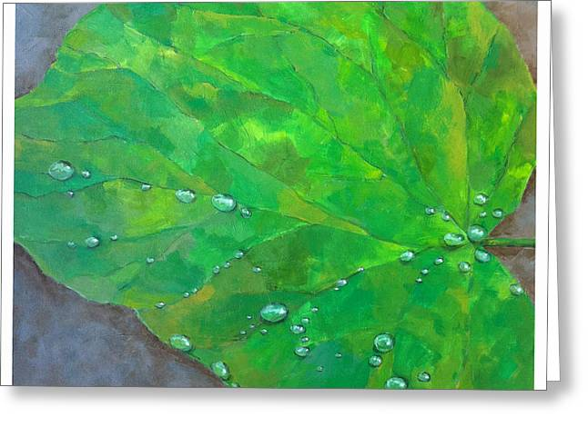 After The Rain Greeting Card by Thomas Dreesen
