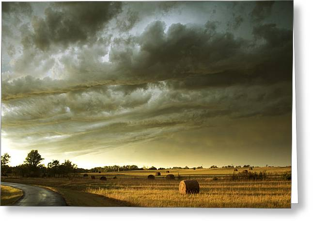 After The Storm Greeting Card by Andrew Dyer Photography