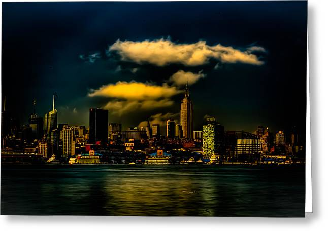 After The Storm Greeting Card by David Hahn