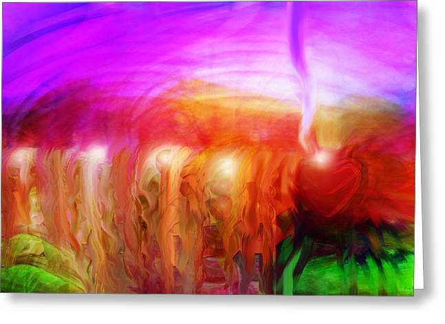 After The Storm Greeting Card by Linda Sannuti
