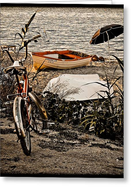 Hanioti, Greece - Afternoon At The Beach Greeting Card