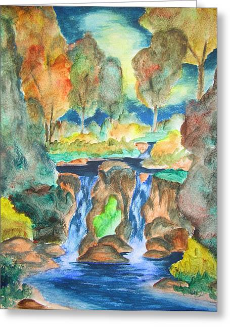 Afternoon Delight Greeting Card by Cheryl Pettigrew