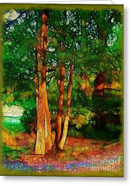 Afternoon Delight Greeting Card by Judi Bagwell