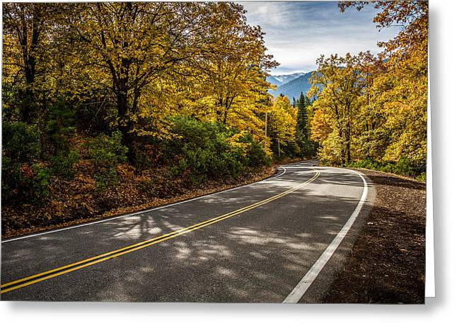 Greeting Card featuring the photograph Afternoon Drive by Randy Wood