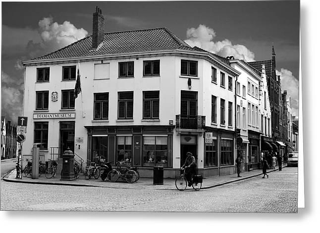 Afternoon In Brugge Greeting Card