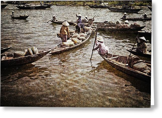 Afternoon On The River Greeting Card by Skip Nall