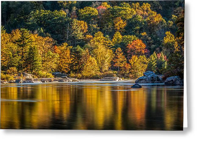 Afternoon On The Youghiogheny River Greeting Card