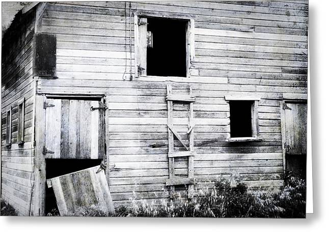 Aging Barn  Greeting Card by Julie Hamilton