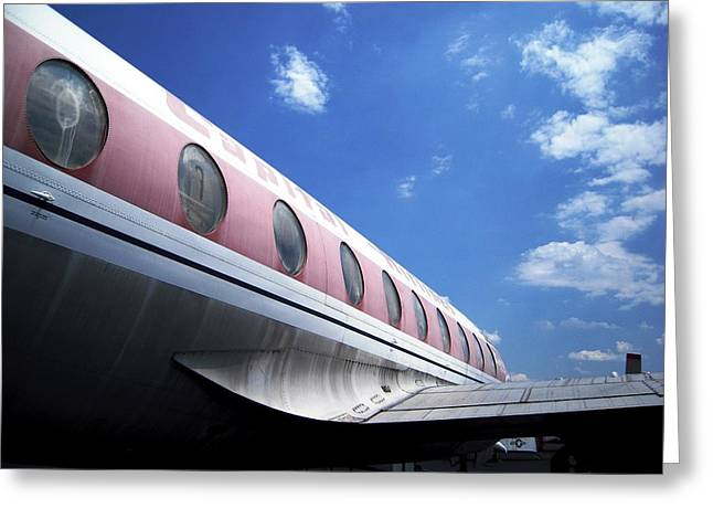 Air Queen Grounded For Now Greeting Card by Don Struke