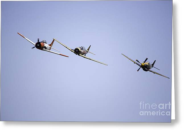 Air Show 11 Greeting Card by Darcy Evans