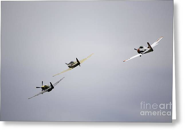 Air Show 13 Greeting Card by Darcy Evans