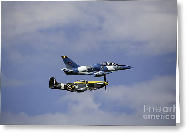 Air Show 2 Greeting Card by Darcy Evans