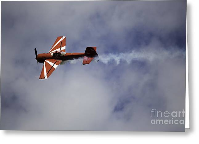 Air Show 3 Greeting Card by Darcy Evans