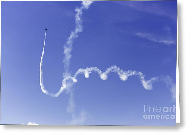 Air Show 5 Greeting Card by Darcy Evans