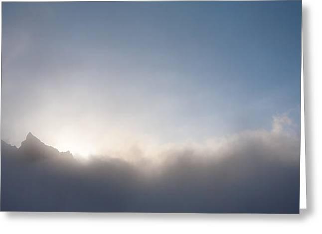 Aksai Clouds Greeting Card by Konstantin Dikovsky