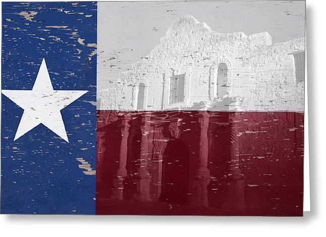 Alamo Wall Art Greeting Card