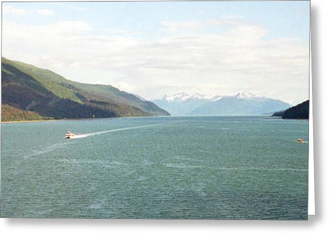Alaskan Boatride Greeting Card